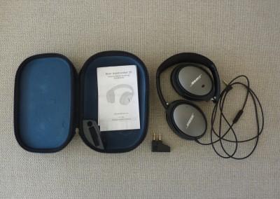 Bose qc-25 : tous les accessoires