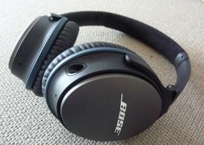 Bose qc-25 : Zoom sur écouteur